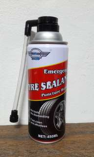 Fix  a Flat Tire Sealant