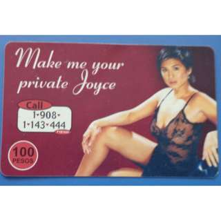 PLDT Touch Card - Private Joyce