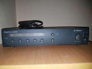 Amplifier bosch ple-1me 120-eu
