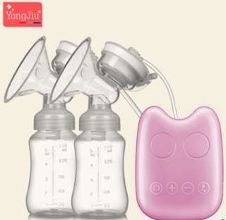 YONG JIU Intelligent bilateral electric breast pump Automatic massage milking breast pump Touch type
