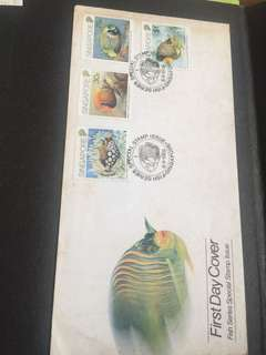 Fish series first day cover