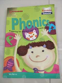 Phonics for primary 1