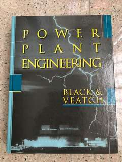 Power Plant Engineering - used book