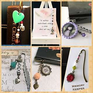 Gift Ideas - Handmade Bookmark Charms