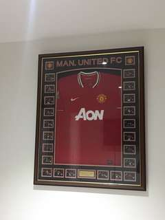 Manchester United memerobilia