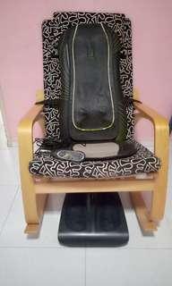 Massage chair 1 set + chair