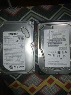 Hard Disk Drive 80gb and 146gb
