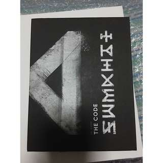 [free shipping] MONSTA X ALBUM: THE CODE - DECODE VER. [UNSEALED]