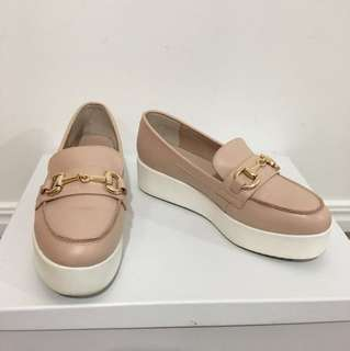 Siren rose quartz loafers