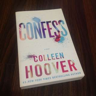 Confess (Trade Paperback) by Colleen Hoover
