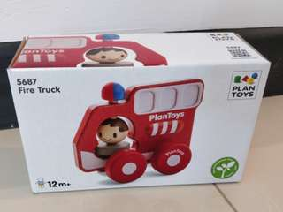 Brand new Plan Toys Fire Truck