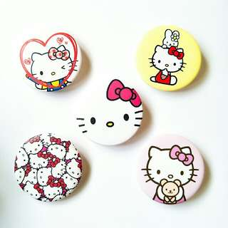 🎀Hello Kitty Tumblr Pinback Button Badges