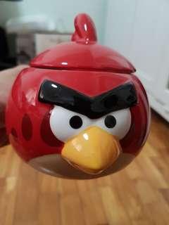 Cute Red Angry Bird Mug