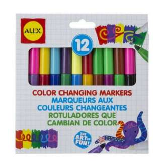 (PO) ALEX Toys Young Artist Studio Color Changing Markers