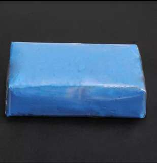 Clay Bar 100gram (Size:Approx 6.5cm X 4.5cm)