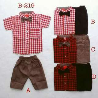 Setelan baju anak bayi usia 24-30 bln