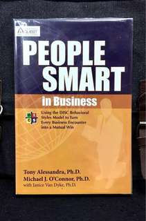 "《New Book Condition + How To Achieve The ""Public/Relationship Victory"" in Business》Tony Alessandra & Michael J. O'Connor - PEOPLE SMART IN BUSINESS : Using The DISC Behavioral Styles Model To Turn Every Business Encounter Into A Mutual Win"