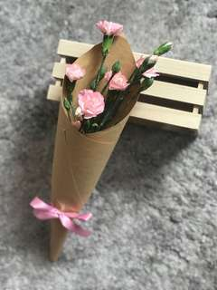 Mother's Day 2018 Special Sweet Mini Bouquet Flowers Pink Carnations