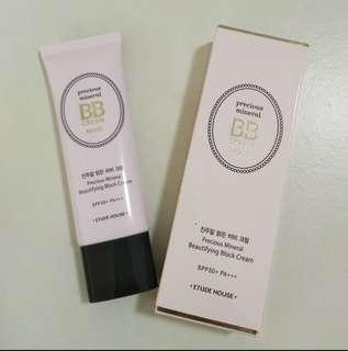 🔴 ETUDEHOUSE Precious Mineral BB Cream Moist (SPF50+/PA+++) BeigeColor