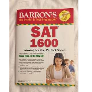 Barron's SAT 1600 Prep Book