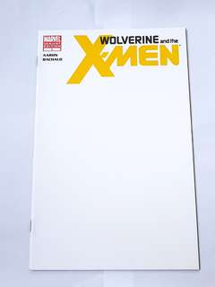 WOLVERINE AND THE X-MEN 1 BLANK VARIANT