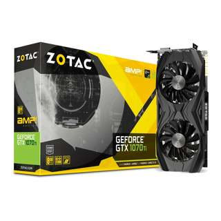 ZOTAC GeForce® GTX 1070 Ti AMP Edition