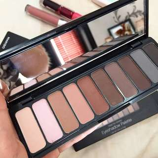 Elf eyeshadow matte pallete all nude