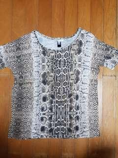 Mango pattern blouse