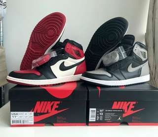Nike Air Jordan 1 sz 11.5us(repriced for 1 week only)