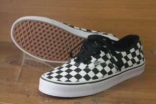 Vans authentic checkerboard