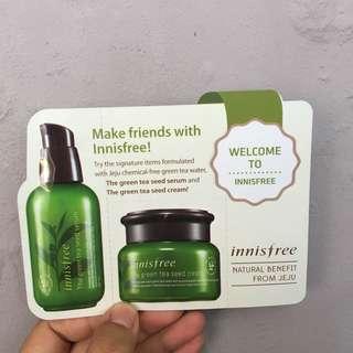 Innisfree - The greentea seed leaflet pouch