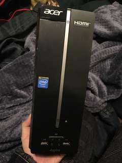 降價隨便賣 宏碁 Acer Aspire XC-603 四核心 小電腦 殺價勿來 500G 文書遊戲機 桌上型電腦 自取2200