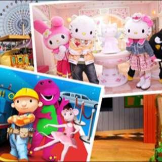Hello Kitty and Thomas Town