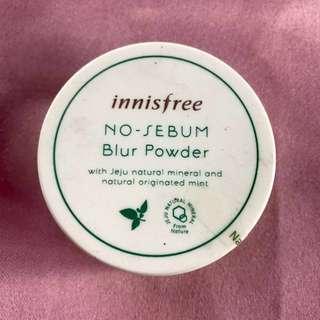 Innisfree No-Sebum Blur Powder