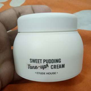 Etude house sweet pudding tone-up cream