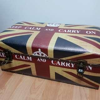 Vintage british style storage