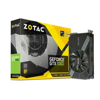 ZOTAC GeForce® GTX 1060 Mini 6GB