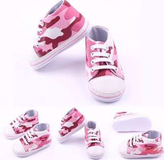 Baby Girl Soft Shoe Sneakers