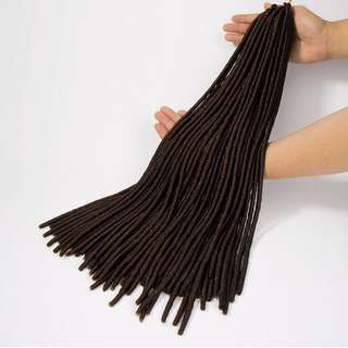 Dreadlocks Crochet Faux Locks (Dark Brown)