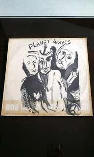 BOB DYLAN. planet waves. Vinyl record