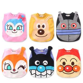 (PO) PREMIUM Anpanman Characters Vest Tshirt for Baby Toddler