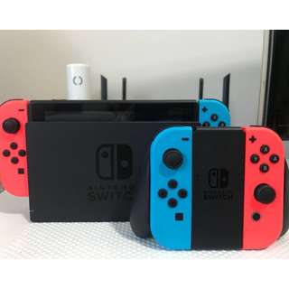 [for rent] Nintendo Switch with 3 games [selection available] and 4 joycons #HariRaya35