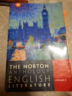 NTU HL1003 Survey II: Norton Anthology Volume 2