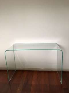 Glass Consol Table