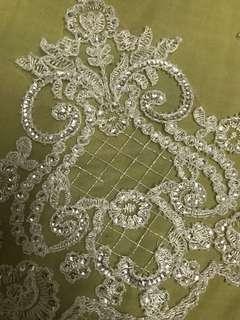 Border lace/ veil