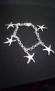 925 bracelet starfish