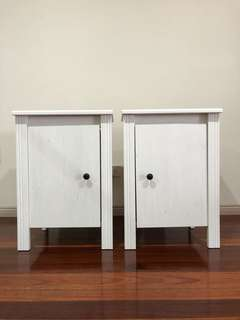 Ikea bedside tables x2