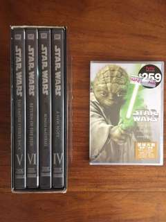 Starwars DVD Set 1-6