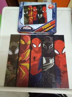 Marvel ultimate Spiderman puzzle