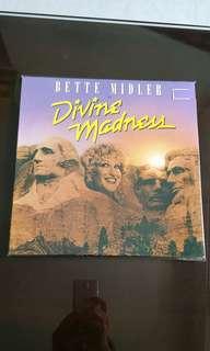 BETTE MIDLER. divine madness vinyl record